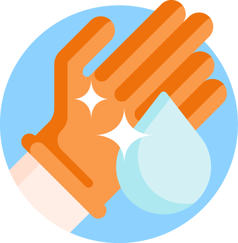 Sparkles glove