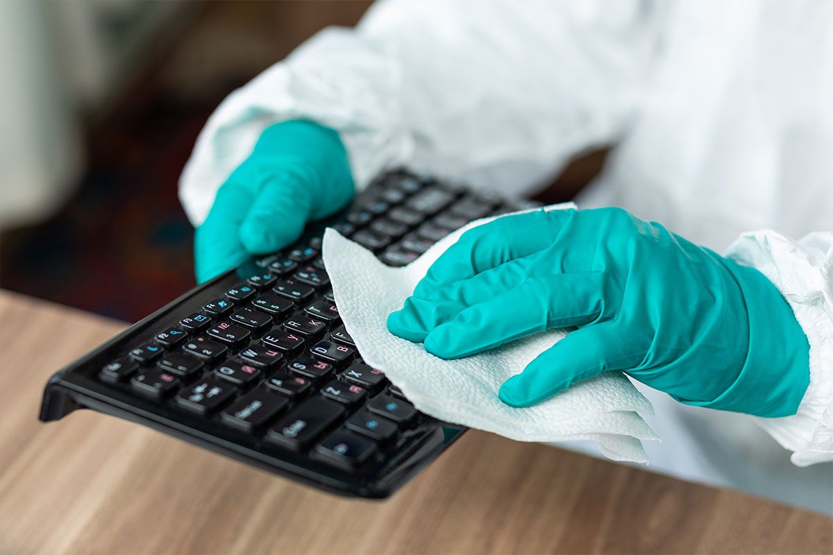 Cleaning Tips to Minimise Spread of Covid-19 in the Workplace