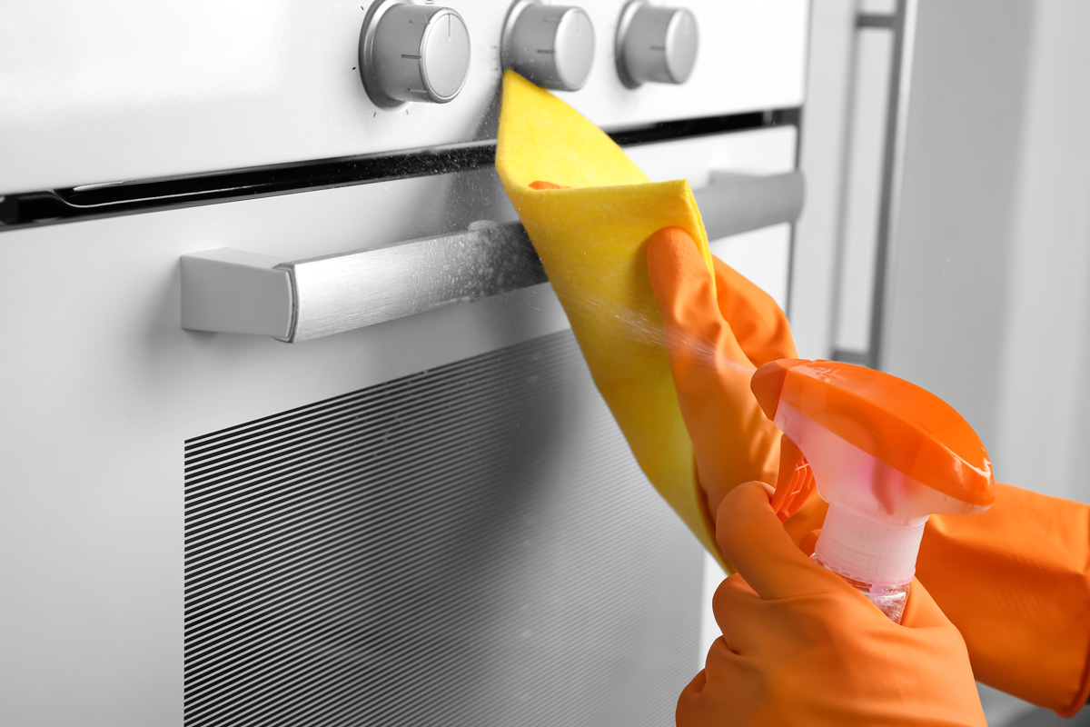 How to speed clean your kitchen